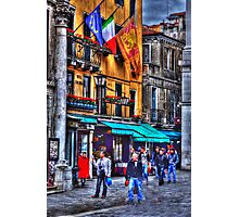 Verona street scene Photographic Print