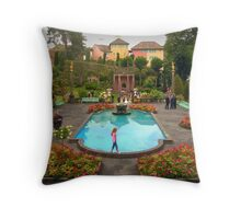 Wedding at Portmeirion Village Throw Pillow