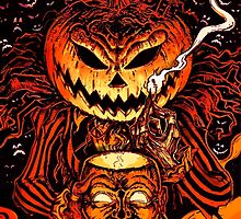 Pumpkin King Lord O Lanterns by Scott Jackson