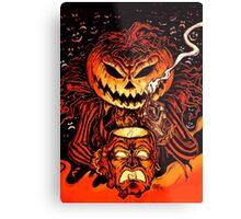 Pumpkin King Lord O Lanterns Metal Print