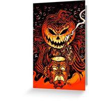 Pumpkin King Lord O Lanterns Greeting Card