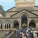 School outing to the cathedral of Amalfi - Italy by Arie Koene