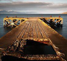 Portencross Pier by Grant Glendinning