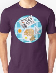 A TQF Breakfast T-Shirt