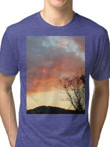 Red Sky at Night Tri-blend T-Shirt