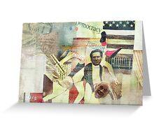 Democracy in Turmoil Greeting Card