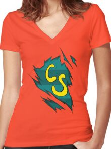 Swifters Unleashed Women's Fitted V-Neck T-Shirt