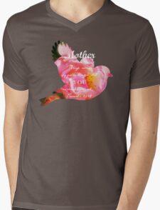 Roses - Verse Mens V-Neck T-Shirt