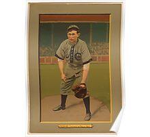 Benjamin K Edwards Collection Pat Moran Chicago Cubs Philadelphia Phillies baseball card portrait Poster