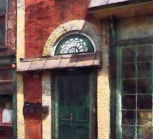 Fancy Green Door Burlington NJ by Susan Savad