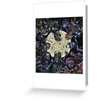 Zombies Attack (Zombie horde) Greeting Card