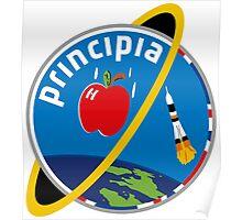 ESA's Principia Mission Logo Poster