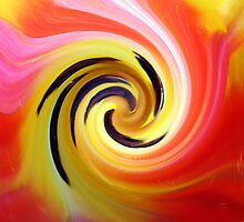 Tulip abstract art by buttonpresser