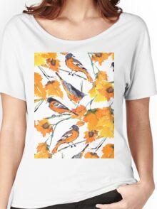 Birds In Autumn Women's Relaxed Fit T-Shirt