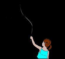 Balloon Girl - Colour by theamorousclam
