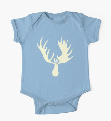Hare Moose  One Piece - Short Sleeve