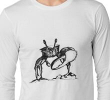 Traditional Inked Crab Long Sleeve T-Shirt