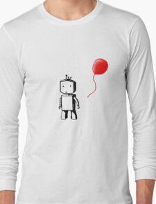 Robot Balloon Long Sleeve T-Shirt