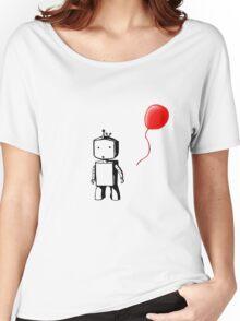 Robot Balloon Women's Relaxed Fit T-Shirt