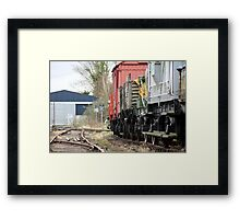 Carriages 2 Framed Print