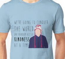 Conquer with Kindness Unisex T-Shirt