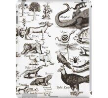 Medieval Animals Chart iPad Case/Skin