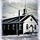 The Country Church sits alone by Scott Mitchell