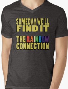 The Rainbow Connection Mens V-Neck T-Shirt