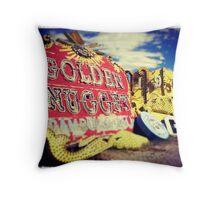 Neon Nugget Throw Pillow