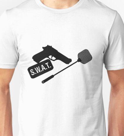 SWAT- black Unisex T-Shirt