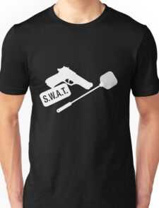 SWAT- White Unisex T-Shirt