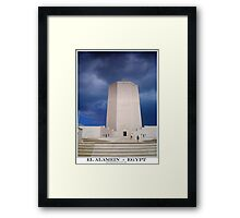 italian memorial Framed Print