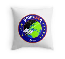PromISSe Mission to the ISS Throw Pillow