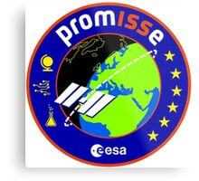 PromISSe Mission to the ISS Metal Print