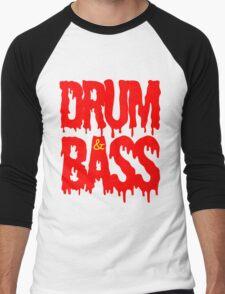 Drum & Bass  Men's Baseball ¾ T-Shirt