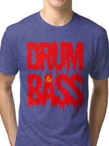 Drum & Bass  Tri-blend T-Shirt