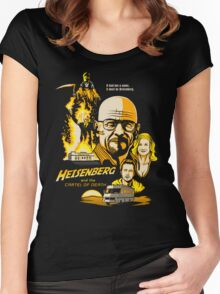 Heisenberg and the Cartel of Death Women's Fitted Scoop T-Shirt