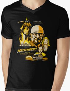 Heisenberg and the Cartel of Death Mens V-Neck T-Shirt