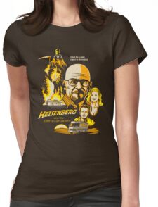 Heisenberg and the Cartel of Death Womens Fitted T-Shirt