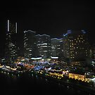 Yokohama Night Scape by Michael Powell