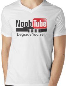 NoobTube Mens V-Neck T-Shirt