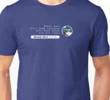 Bombs Away - 321st SQ - 90th BG - 5th AF Emblem (White) Unisex T-Shirt