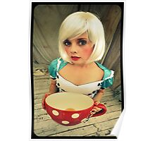 Alice will take tea Poster