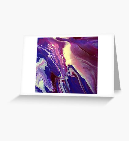 AGATE SWIRL Greeting Card