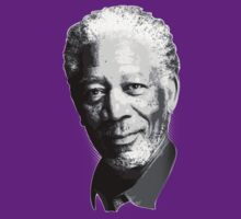 Morgan Freeman by Steve Hryniuk