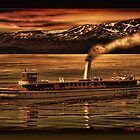 The SS Tahoe by Richard  Gerhard