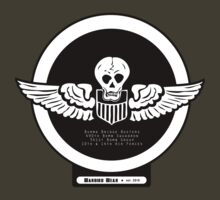 Burma Bridge Busters - 490th BS - 341st BG - 10th & 14th AF Emblem  by warbirdwear