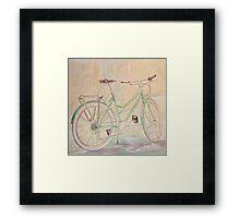 Green Betty Framed Print
