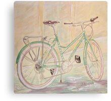 Green Betty Canvas Print