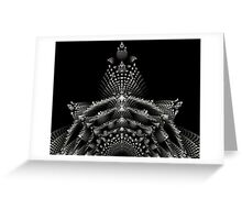 The royal crown Greeting Card